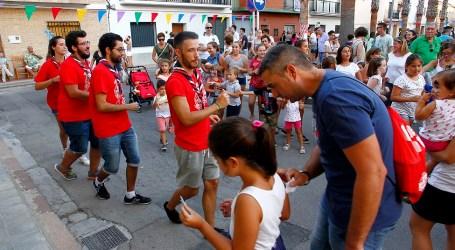 Los niños protagonistas de las fiestas de Puçol