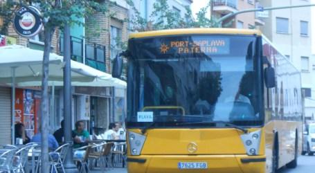 Un 48% más de viajeros este verano en el autobús de Paterna a la playa