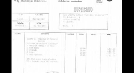 Compromís per Torrent denuncia la aparición de facturas sin pagar de 2014