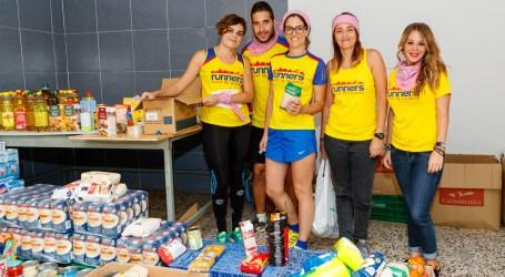La carrera San Francisco de Mislata recoge dos toneladas de alimentos
