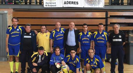 Aderes Burjassot, subcampeón de España de Fútbol Sala de la FEDDI