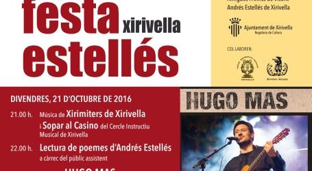 El casino de Xirivella acull la Festa Estellés d'enguany