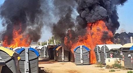 El PP de Mislata pide explicaciones por el incendio de contenedores