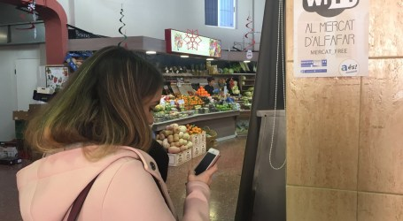 Alfafar amplía los puntos Wi-Fi con una nueva instalación en el mercado municipal