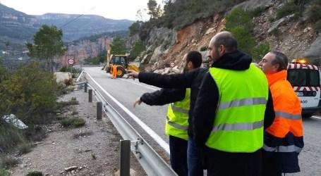 la Diputación ha resuelto 150 incidencias en 59 carreteras durante el temporal