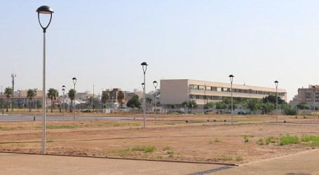 Albal concluirá las obras del parque Benamá antes de que finalice el año