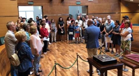La Diputació realitza jornades de portes obertes i jocs infantils per celebrar el 9 d'Octubre