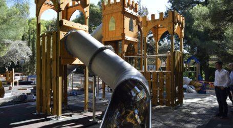 El Parque de l'Eixereta de Burjassot contará con un nuevo juego para los más pequeños