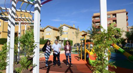 Paiporta obri al públic la nova zona verda del carrer Sant Ramon, un espai concebut des de la sostenibilitat