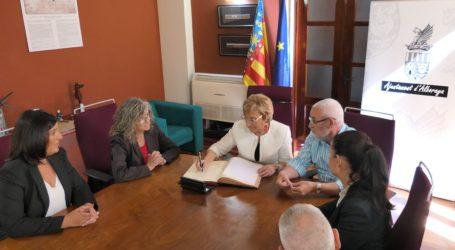 La Consellera de Sanitat visita l'Ajuntament d'Alboraia i el nou Punt d'Atenció Continuada