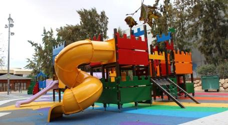 Almàssera acondiciona y mejora sus parques y jardines
