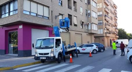 Xirivella invierte 355.000 euros en renovar su alumbrado