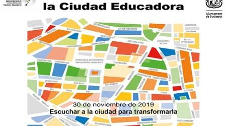 Burjassot celebra el Día Internacional de las Ciudades Educadoras con una variada programación