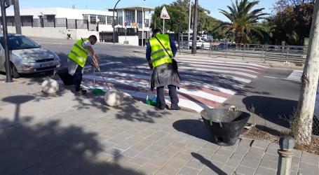 Paterna refuerza el servicio de limpieza  en La Coma y Santa Rita