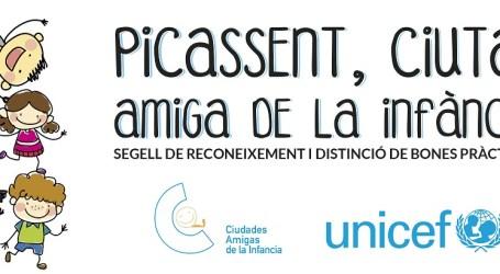 El Ple Municipal aprova per unanimitat l'adhesió de Picassent al manifest de les Ciutats Amigues de la Infància