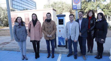 Paterna cuenta con un nuevo punto de recarga de vehículos eléctricos en el Parque Tecnológico