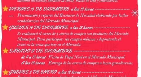 Intensa actividad navideña en el Mercado Municipal L'Almara de Burjassot