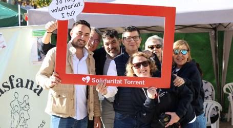 La solidaridad estuvo muy presente en Torrent en el II Día del Voluntariado