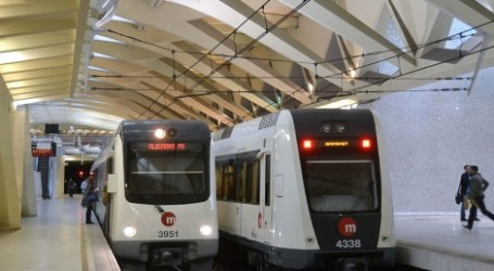 Problemas en línea 1 del metro Empalme-Bétera y retrasos por la lluvia