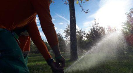 Sagredo anuncia la reutilización de 3'5 millones m3 de agua depurada para riego