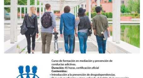 Alfafar organiza una formación para la prevención de conductas adictivas
