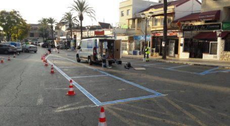 Paterna refuerza la señalización vial de la plaza Puerta del Sol de La Canyada