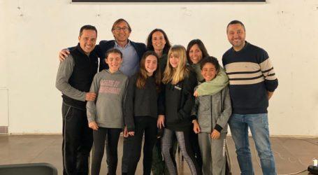Los niños y niñas de Godella participan en el proyecto Supera-T