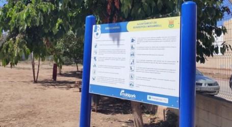 Cerrado el parque canino de Bonrepòs i Mirambell tras el contagio de varios perros