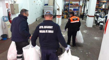 Más de 80 voluntarias coserán mascarillas en Burjassot