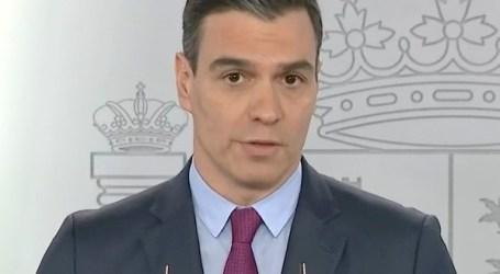 Sánchez anuncia que la vuelta al curso escolar será en septiembre