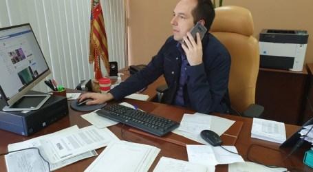 """Guillermo Luján: """"Estamos llamando a todas las personas mayores de Aldaia para saber cómo se encuentran"""""""