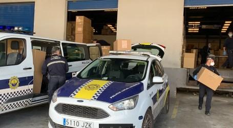 Protección Civil y Policía Local repartirán mascarillas a los trabajadores que no puedan hacer teletrabajo