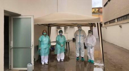 El centro de salud de Foios habilita una zona para la realización de prueba del COVID-19 a pacientes sospechosos