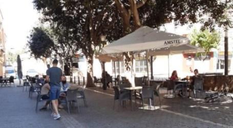 Un 20% de la hostelería de Paterna abre al público en el primer día de la Fase 1