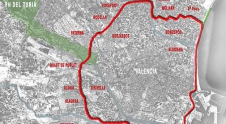Licitadas las obras del anillo verde metropolitano en Paiporta, Picanya, Xirivella, Torrent, Alaquàs y Aldaia