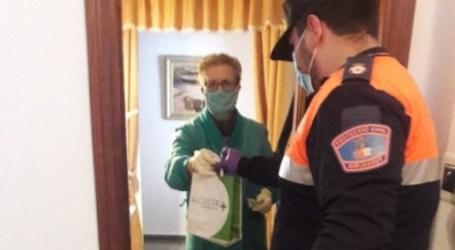 Protección Civil de Burjassot, infatigables durante la pandemia