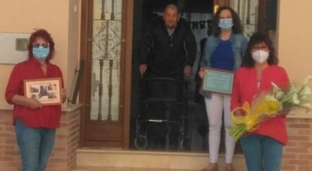 Felicitación muy especial en Albalat dels Sorells a un vecino que ha cumplido 100 años