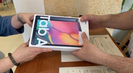 Alfafar reparte 30 tablets para alumnos del municipio