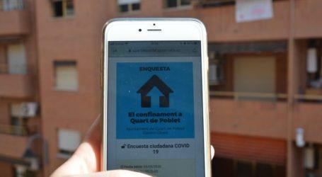 Los vecinos y vecinas de Quart de Poblet demuestran su civismo durante el confinamiento