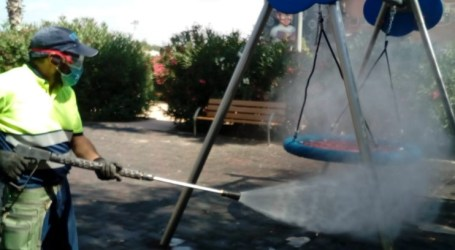 Benetússer continua reforzando el servicio de limpieza y desinfección municipal