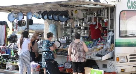 Nueva ubicación del mercado ambulante de Quart de Poblet