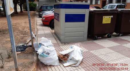 Puçol presenta una nueva campaña de recogida de basuras