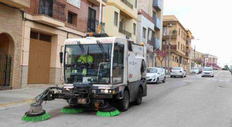 L'Ajuntament de Picassent intensifica la neteja i la desinfecció als carrers