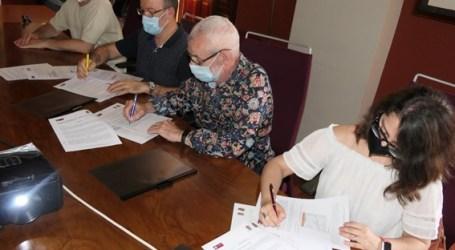 Firman un convenio de colaboración para el desarrollo local entre Pactem Nord y los Ayuntamientos de Almàssera y Tavernes Blanques