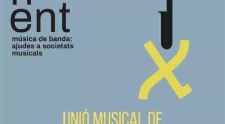 La música torna a la Pobla de Farnals: concert de la Unió Musical al pati del Cervantes