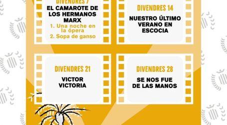 Benetússer ofrece a sus vecinos un verano de cine con 'Cinema d'Estiu'
