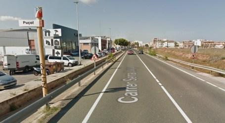 Fallece un motorista de 22 años al colisionar con una grúa en Puçol