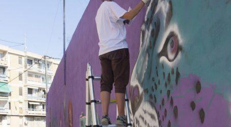 Un altre mur de Godella agafa color i vida gràcies al Godejam