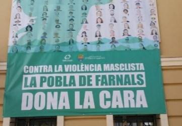 La Pobla de Farnals dona la cara contra la violència masclista