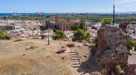 El castillo de Jaime I en El Puig pendiente de una excavación arqueológica
